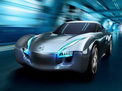 Электрический Nissan бросил вызов суперкарам