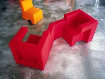 Мебель, которая собирается по принципу тетриса