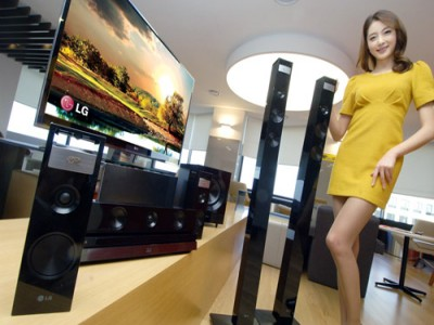 LG представила домашний кинотеатр с 3D-звуком