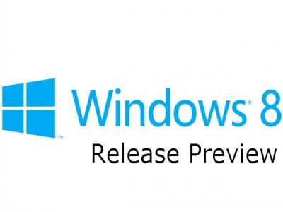 Появилась Windows 8 Release Preview