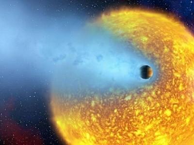 Обнаруженная «Кеплер» планета испариться за 100 миллионов лет