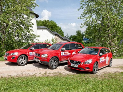 Топовые Volvo S60 вместе с XC60