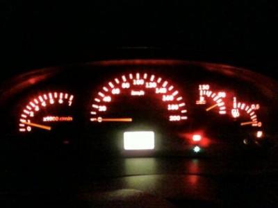 Подсветка панели форд эскорт своими руками 39