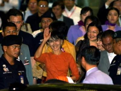 Аун Сан Су Чжи удостоена Нобелевской премии спустя 21 год