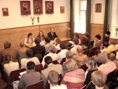 Студентам Свято-Филаретовского института прочитали лекцию о том, как правильно рассказывать о религии детям