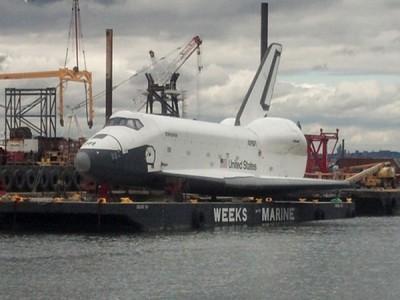Шаттл Enterprise отправили в музей