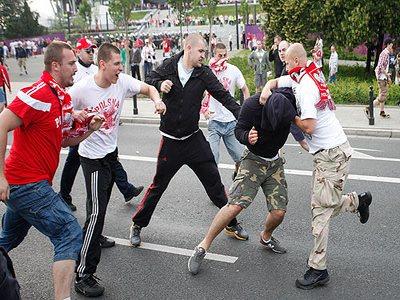 В Польше российских фанатов посадили в тюрьму