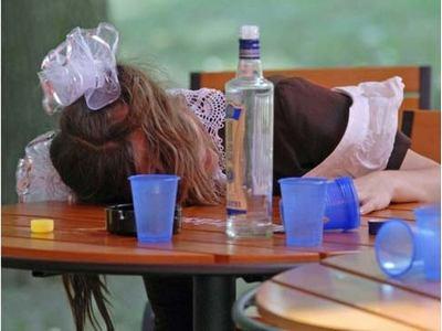 Более чем 11% украинских подростков полагают, что алкоголь легкодоступен