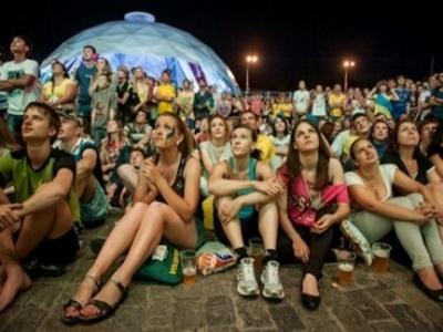 Демонтаж фан-зоны в центре Киева начнется утром 2 июля