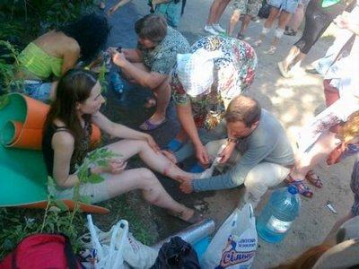 В аварии около Киева было травмировано 23 участника этнофестиваля