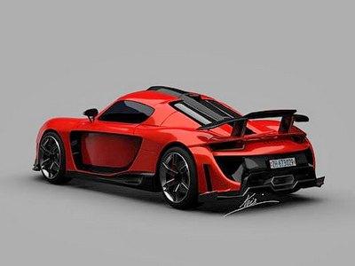 Компания Genevart разработает карбоновый суперкар из Porsche 911