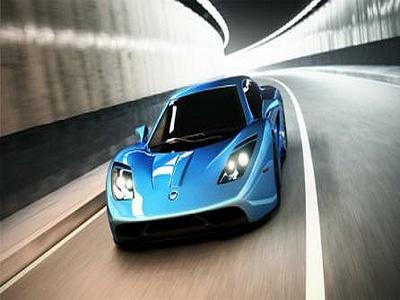 Vencer впервые представил карбоновый суперкар Sarthe