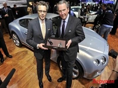 Директор Bentley теперь будет строить карьеру в Audi
